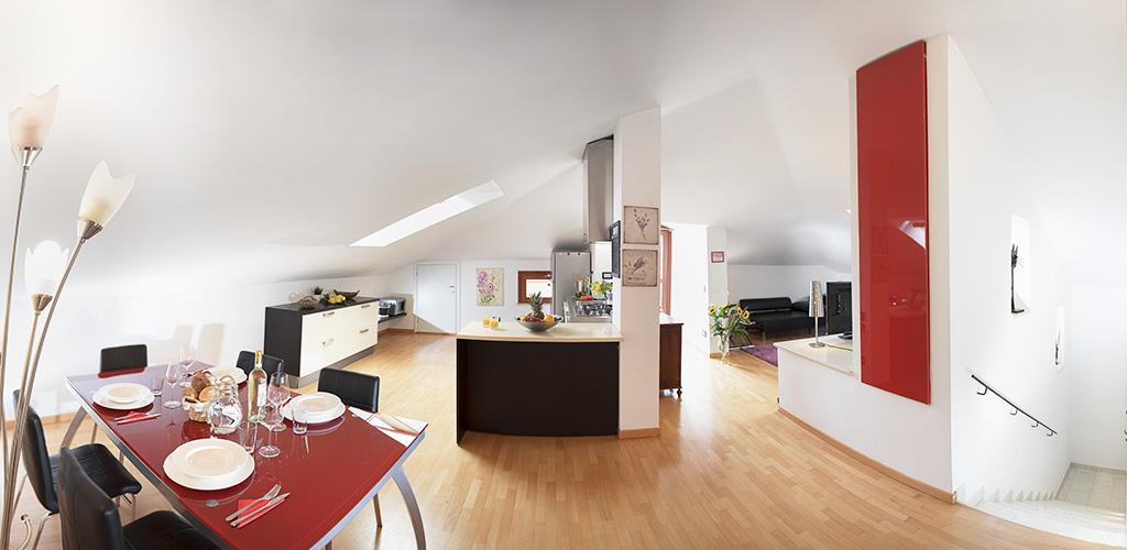 appartamento attico verona
